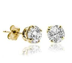 gold diamond stud earrings mens diamond stud earrings india 20 designer collections