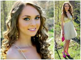 get ready with me prom 2016 makeup hair tutorial with gold dress pink heels jackie wyers