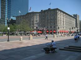 Copley Square Boston Map by The Fairmont Copley Plaza Hotel Wikipedia