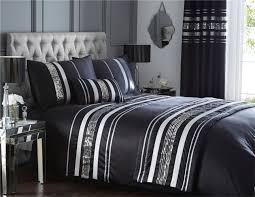 modern sequin quilt duvet cover u0026 2 pillowcase bedding bed set