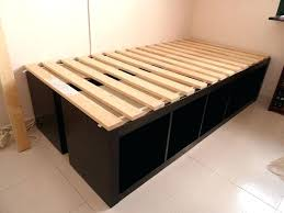 Platform Bed With Storage Underneath Build A Platform Bed With Storage Underneath Best Storage Bed