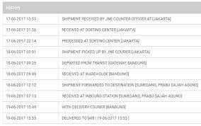 Jne Tracking Mengenal Arti Istilah On Process Manifested On Transit Dll Di