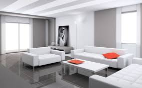 Contemporary White Coffee Table by Living Room Contemporary Living Room Design With Modern Black