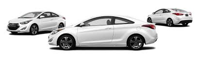 hyundai elantra white 2014 hyundai elantra coupe base 2dr coupe pzev research groovecar