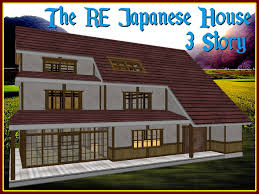 second life marketplace re japanese house 3 story