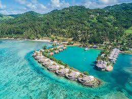 overwater bungalows in the south pacific water villa resorts in