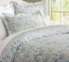 Pottery Barn Toile Bedding Jessie Organic Duvet And Shams Pottery Barn Be Our Guest