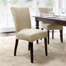 Damask Dining Room Chair Covers Dining Room Chair Slipcovers Http Enricbataller Net