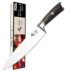 razor sharp kitchen knives amazon com chef knife 8 inch kitchen knife quality professional