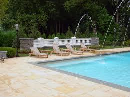 custom swimming pool spa design ideas outdoorindoor nj makeovers