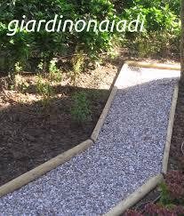vialetti in ghiaia il giardino delle naiadi due passi in giardino seconda parte