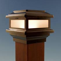 shop all deck lighting low voltage solar lights post cap
