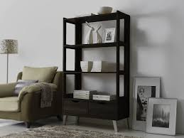 Contemporary Shelving Amazon Com Baxton Studio Kalien Modern U0026 Contemporary Wood