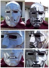 Dr Doom Mask Rpf Dr Doom Mask Doctor Doom Cosplay Pinterest Masking