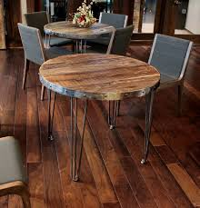 Dining Room Tables Denver Reclaimed Wood Round Table Industrial Denver By Jw Atlas