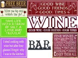 wood signs u0026 sayings wine and spirits wood signs page 1