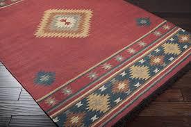 Aztec Area Rug Amazon Com Surya Jewel Tone Jt 8 Flatweave Hand Woven 100 Wool