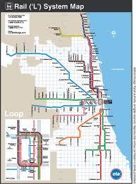 Cta Map Chicago Evanston Premier Healthcare Research