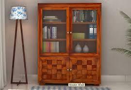 Wooden Bookshelf Bookshelves Buy Bookshelf Online U2013 Upto 65 Off Wooden Street