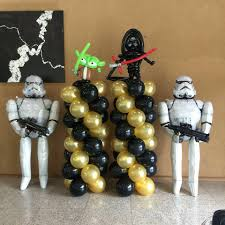Star Wars Decorations Starwars Balloon Decorations That Balloons