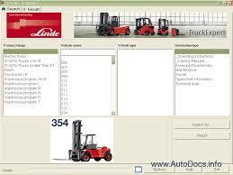 linde truck expert 2011 workshop service manual linde repair