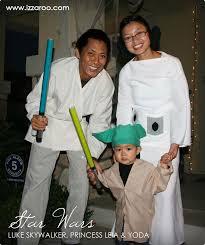 Luke Skywalker Halloween Costume Child Halloween 2012 Diy Star Wars Theme Family Halloween Costume