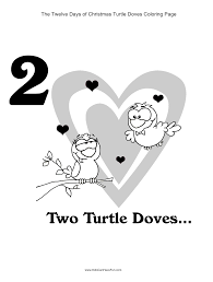 12 days of christmas coloring page twelve days of christmas coloring page