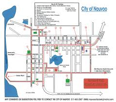 Bus Route Map Buses Vacation Nauvoo