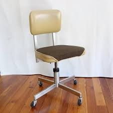 Midcentury Desk Chair Vintage Rolling Swivel Office Chair Add This Beautiful Mid