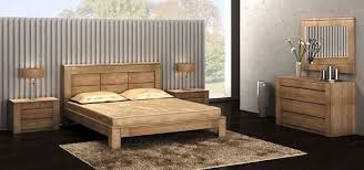 chambre chene massif chambre figaro en chêne meubles contemporains meubles bois massif