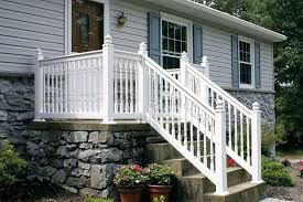 vinyl porch railing deck really inventive vinyl porch railing