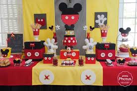 mickey mouse birthday party ideas birthday party themes mickey mouse