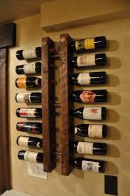 reclaimed wood amp pipe wine rack wood wall wine rack sosfund