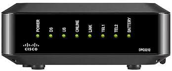Modem Internet Light Blinking Cisco Dpq3212