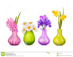 Flowers In Vases Pictures Spring Flowers In Vases Stock Photo Image 30318330