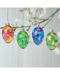easter egg ornaments shopping deals on stained glass easter egg ornaments set of