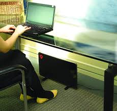 under desk radiant heater flat panel radiant space heater