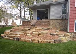 desertscape landscaping retaining walls of appleton