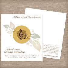 musical cards musical memorial cards memorial cards catalog botanical
