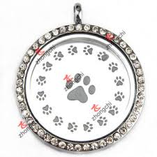 locket plates china stainless steel dog paw locket plates for momery