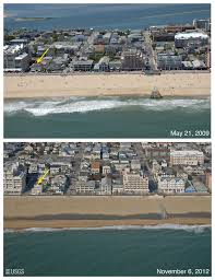 Ocean City Md Map Pre And Post Storm Photo Comparisons For Delaware And Maryland