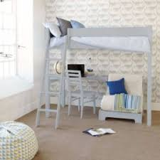High Sleeper With Desk And Futon High Sleeper Beds Nest Designs