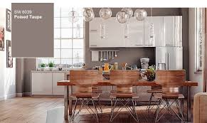 kitchen colors 2017 2017 sherwin williams color of the year poised taupe