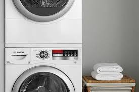 Bosch Laundry Pedestal Tricks To Stacking Any Washer U0026amp Dryer To Save Space