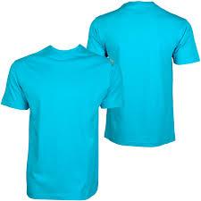 shmack basic blank men t shirt turquoise 42767 at hoodboyz