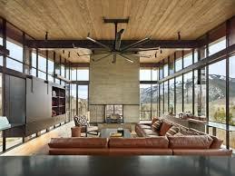 canapé style industriel maison mobilier style industriel canape cuir marron ventilateur