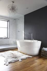 Cowhide Bathroom Rugs White And Gray Modern Bath The Hide And The Charcoal Accent