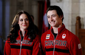 Canada Flag Bearer Canada U0027s Virtue And Moir Named Flag Bearers For Pyeongchang Olympics