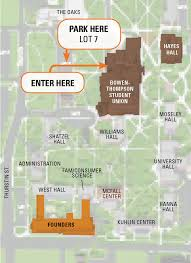 Bgsu Campus Map Arrival And Check In
