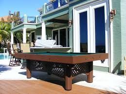 Outdoor Pool Tables by Gameroom Gallery